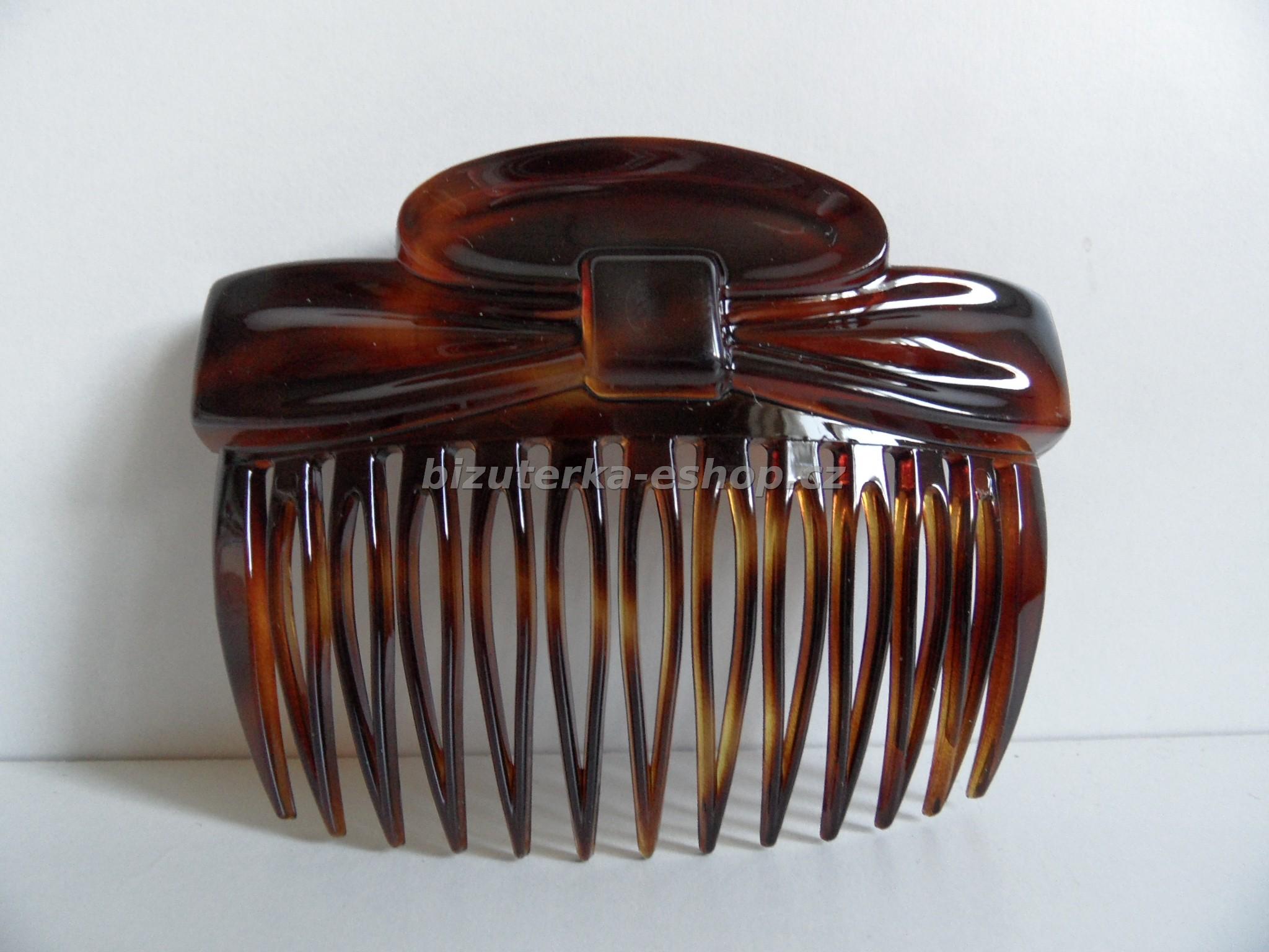 aeb3eaee1e4 Hřeben do vlasů hnědý BZ-05057