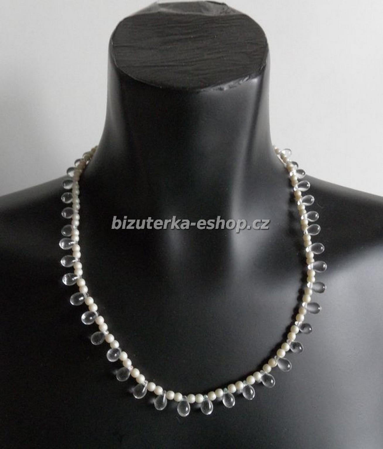 4ae75989d Náhrdelníky a řetízky | Náhrdelník perličky bílý BZ-03861 | E-shop s ...